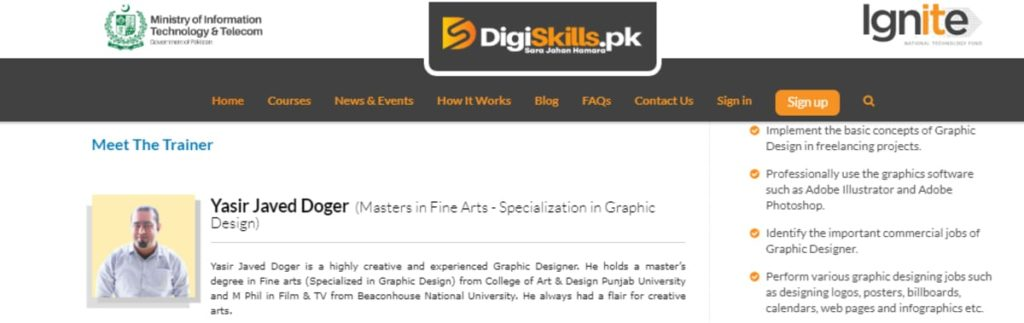 Graphic Design ,Course