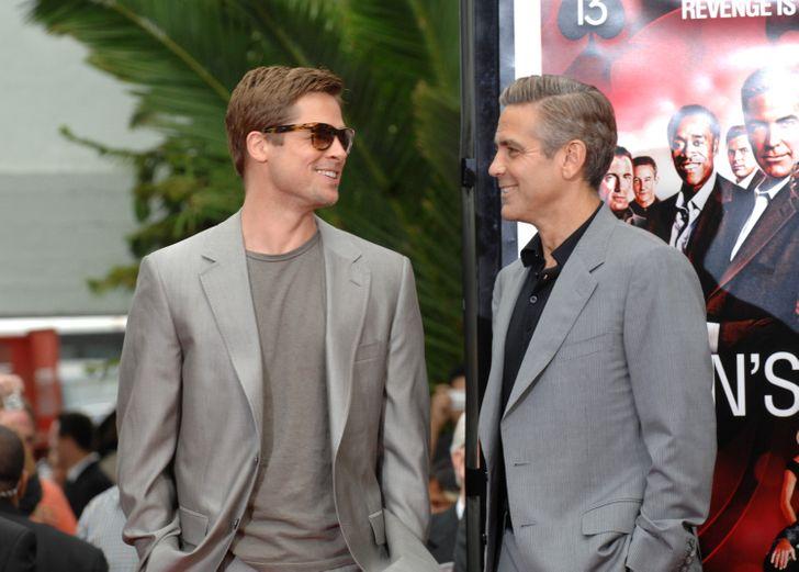 Brad Pitt and  Matt Mercer