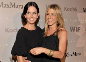 Courteney Cox and Jennifer Aniston