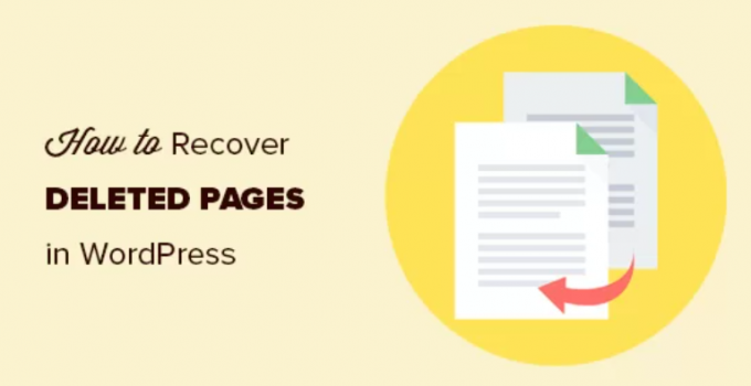 How to recover and restore deleted pages in WordPress (4 methods)