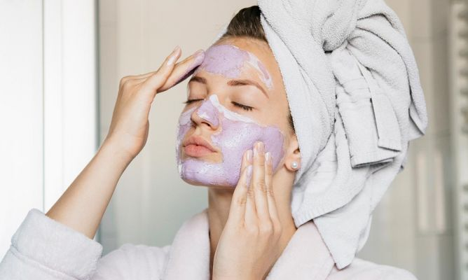 9-step deep facial cleansing