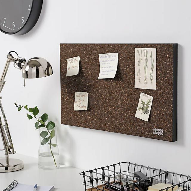 Note boards and corks